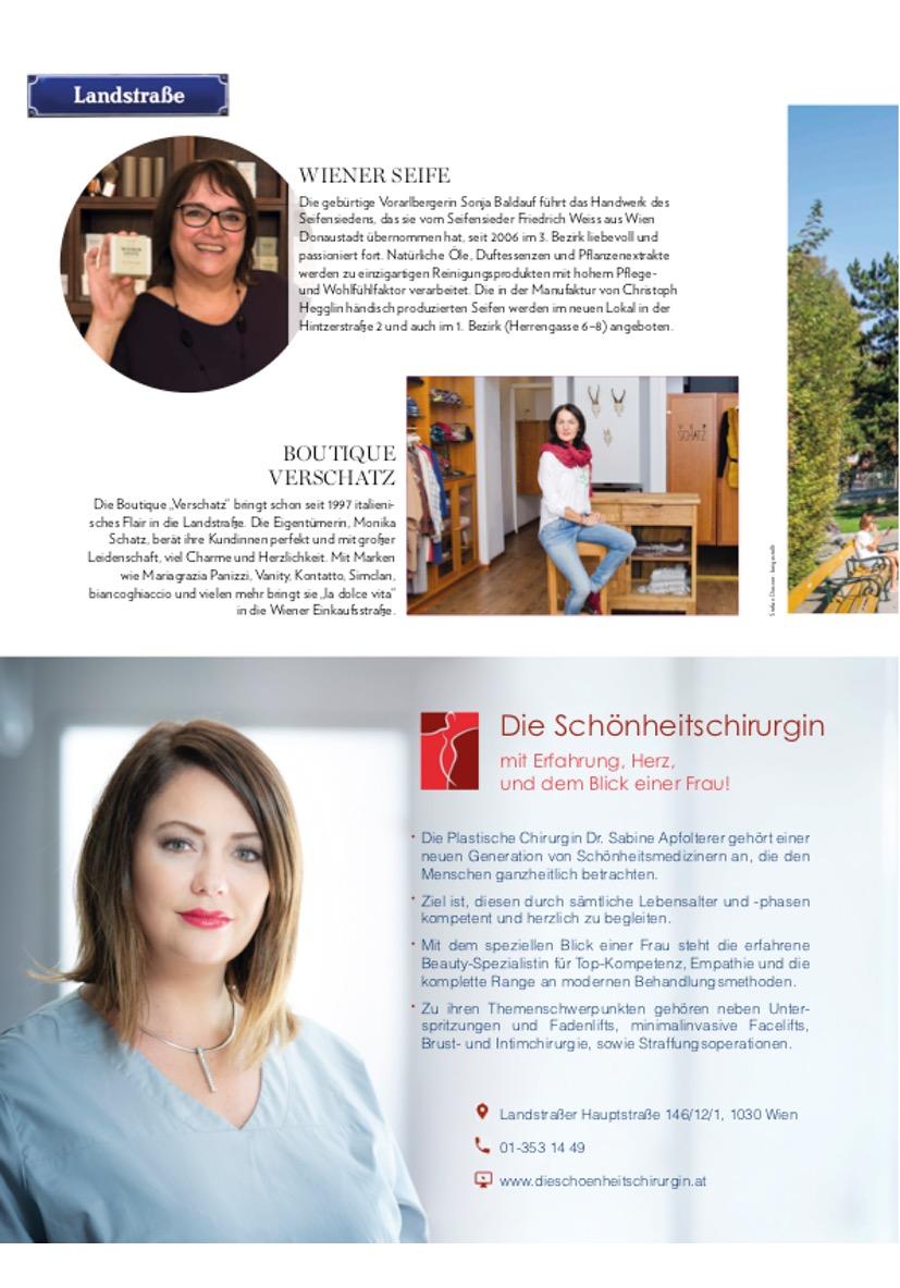 201809 Look Magazin - Dr. Sabine Apfolterer