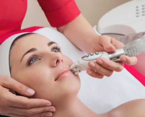 Laser-Behandlung Gesicht