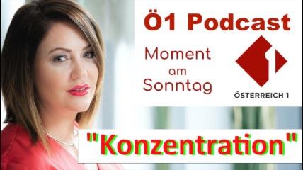 Ö1 Interview über Konzentration